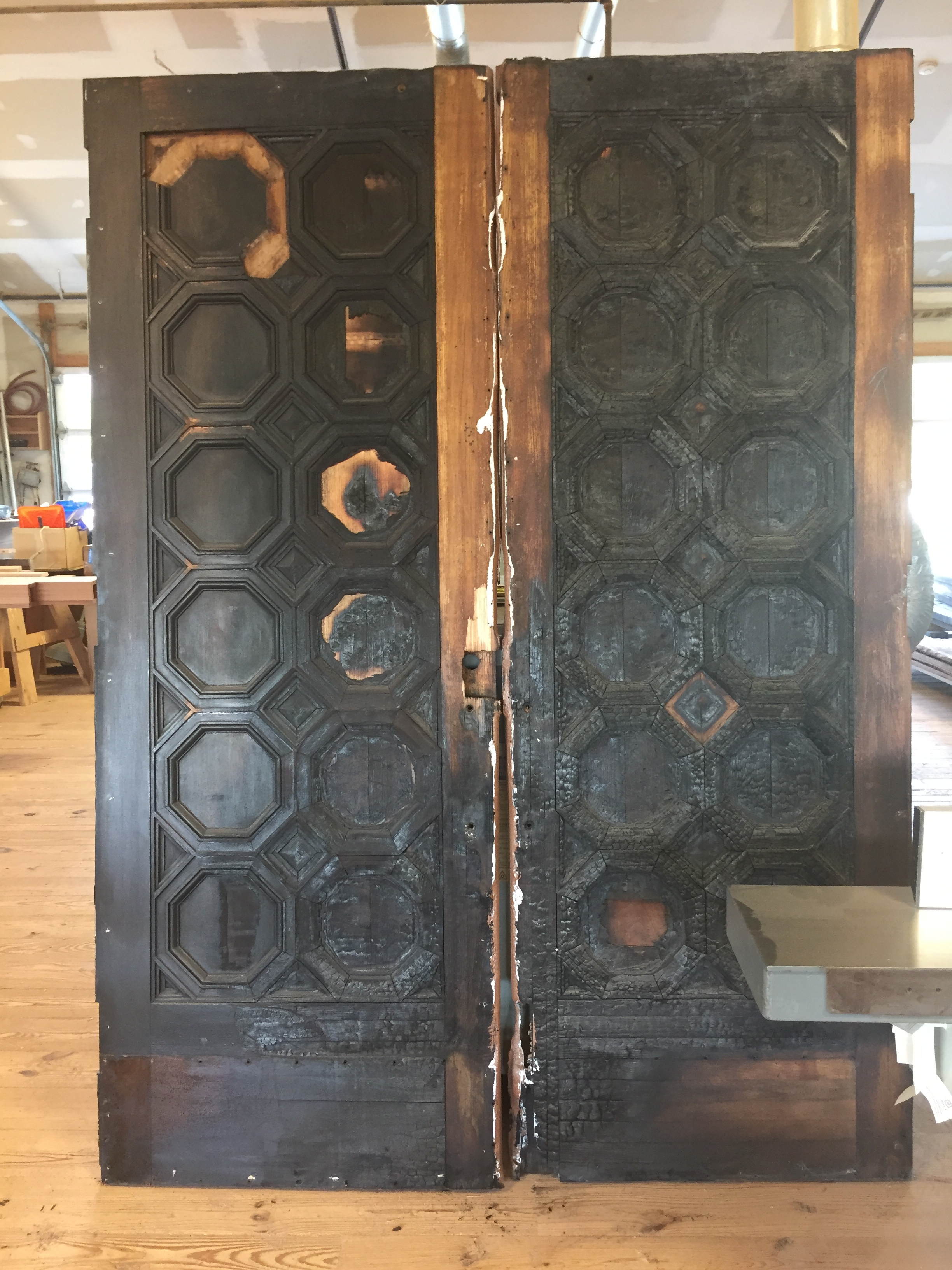 THE ORIGINAL bURNT dOORS