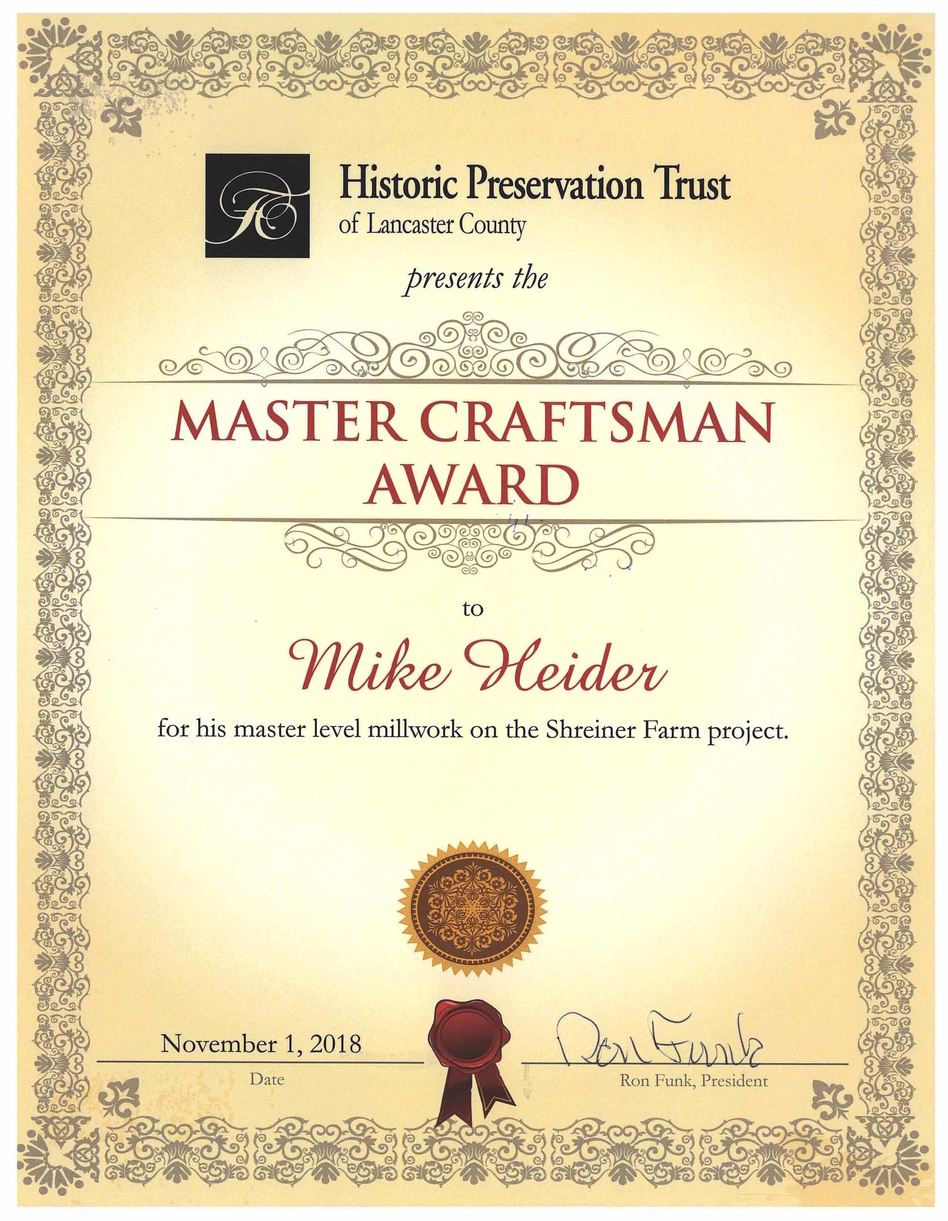 Heider, Mike Award Cert.jpg
