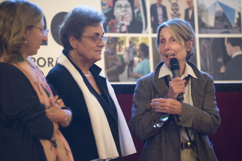Presentazione del film  Étienne-Jules Marey. La science au réveil des arts  con le registe Anne Bramard-Blagny e Josette Uebershlag