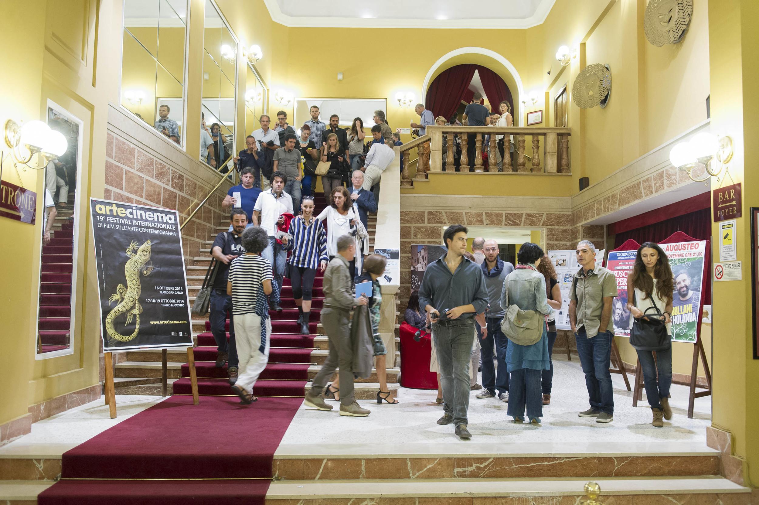 Teatro Augusteo, 17 - 18 - 19 ottobre 2014
