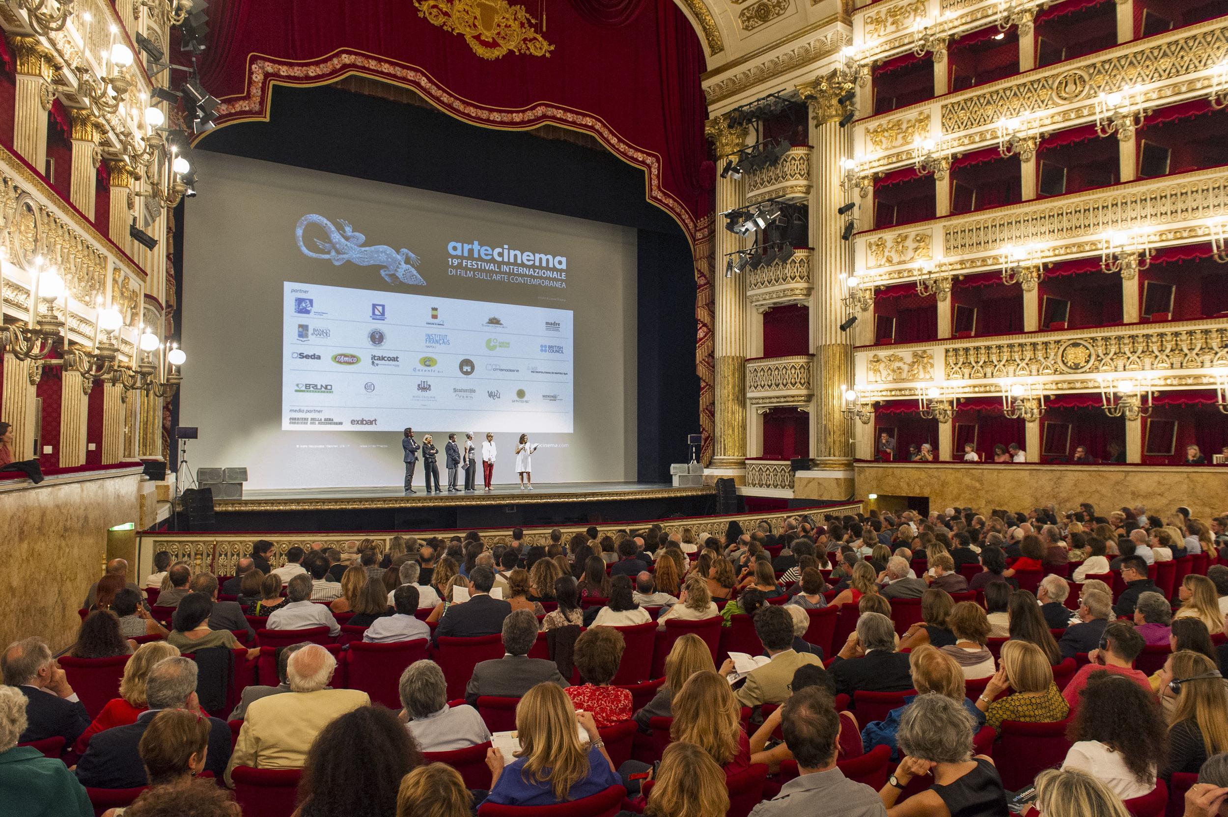 Teatro San Carlo, inaugurazione, 16 ottobre 2014