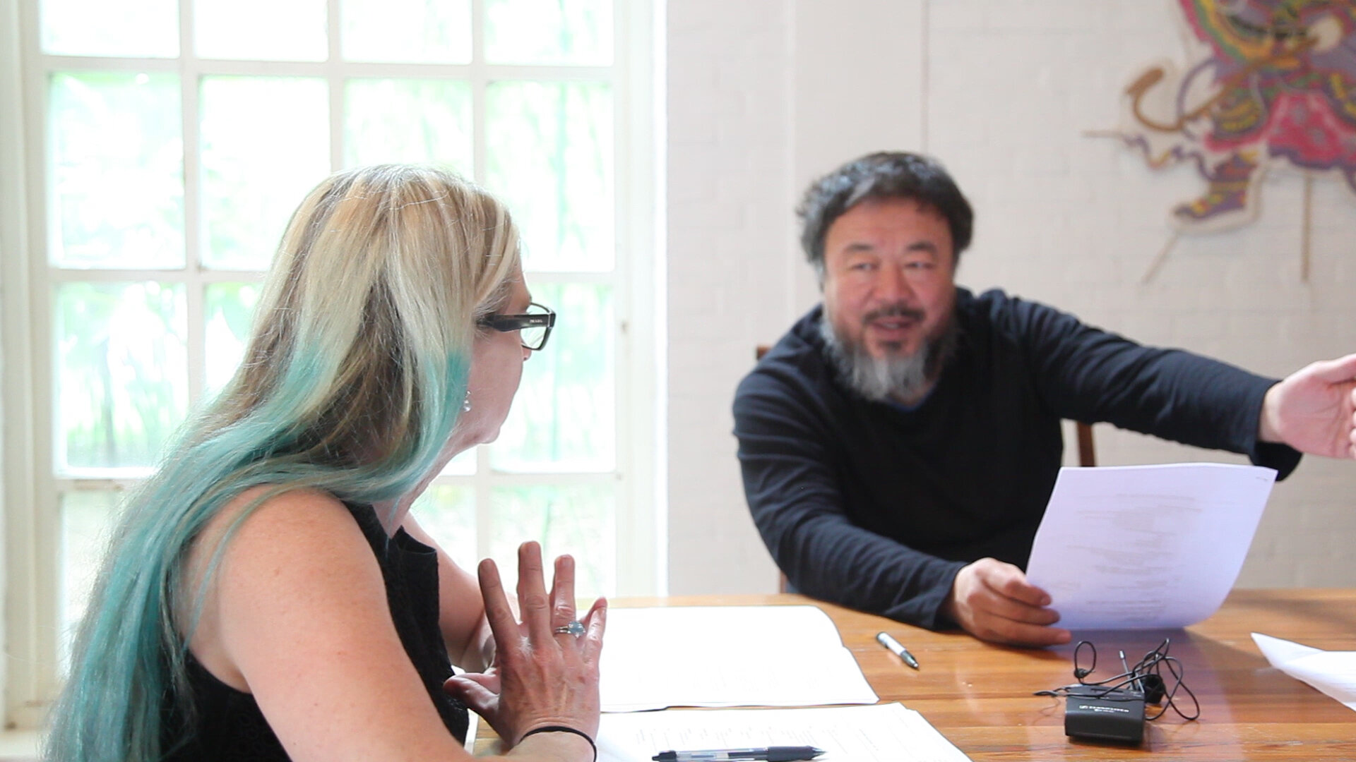 Ai Weiwei: Yours Truly_Cheryl Haines and Ai_image 5.jpg