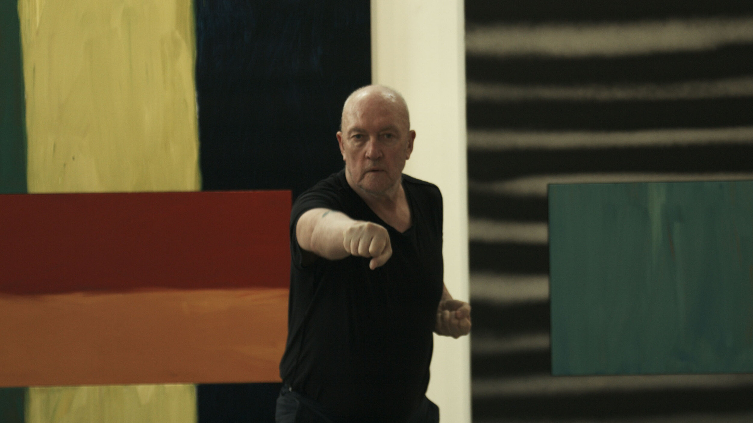 18 Sean Scully Karate workout 2 ©2018Nick Willing.jpg