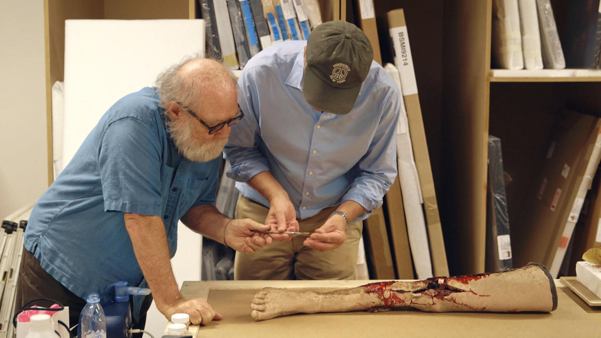 Christian Scheidemann mit Paul McCarthy, Foto Chris Valentien.jpg