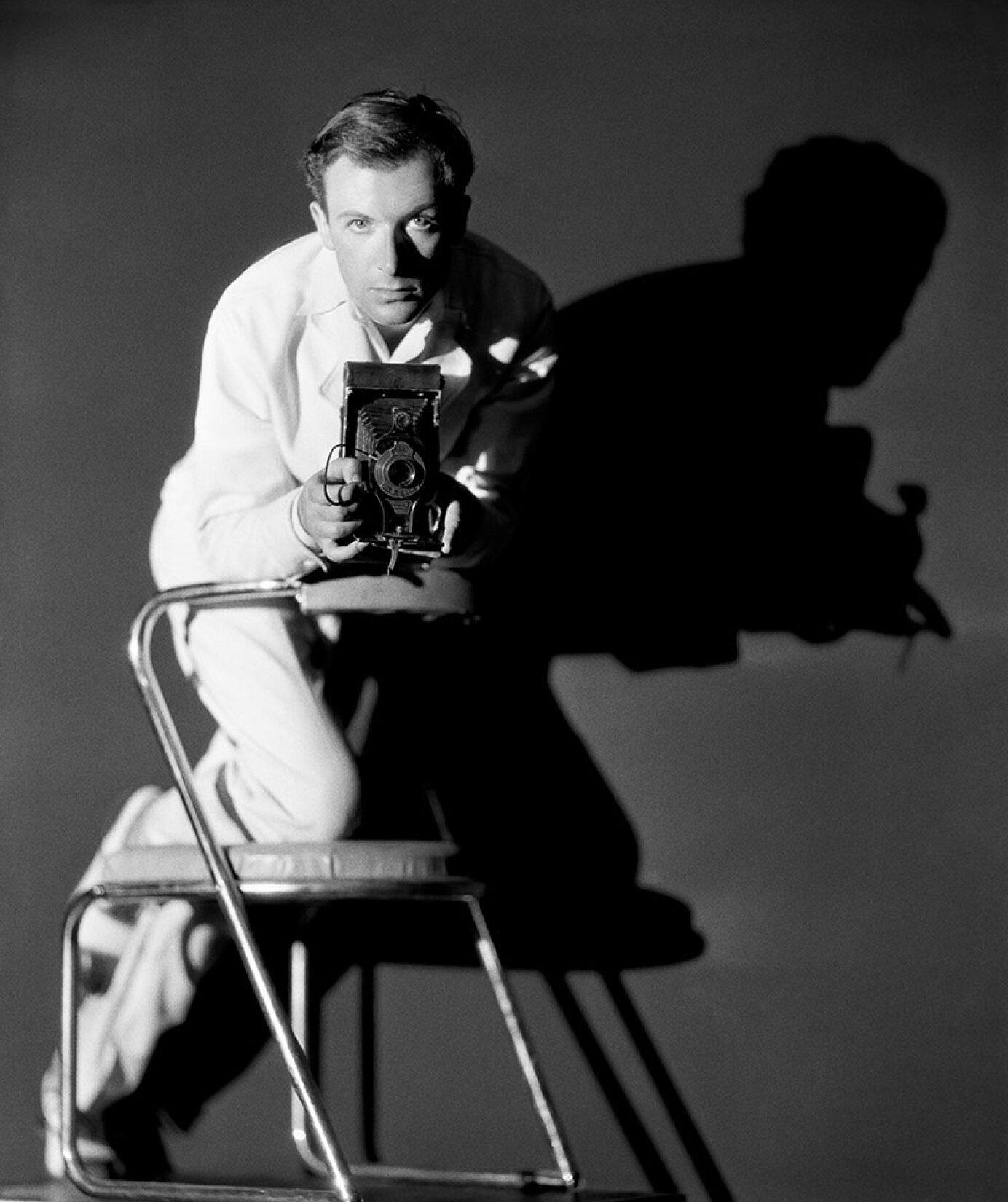 Cecil Beaton in Studio 1930's_Photos courtesy of the Cecil Beaton Studio Archive at Sotheby's.jpg