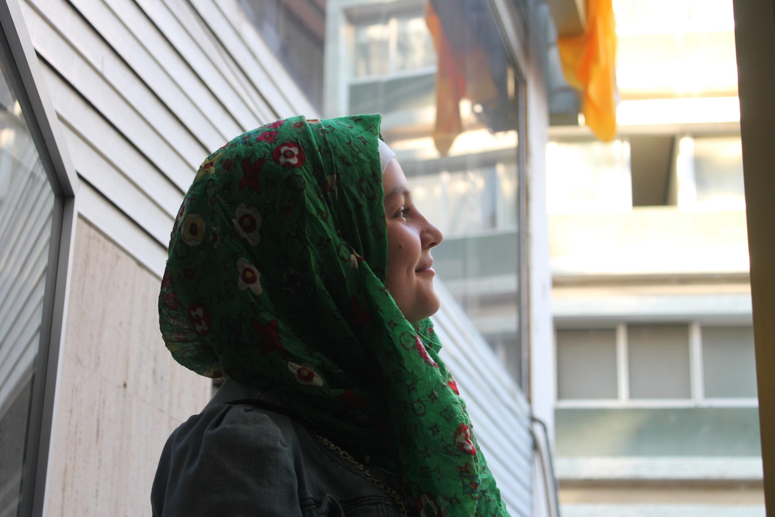 Hamida INARA Arwa Damon Syria CNN Refugee children