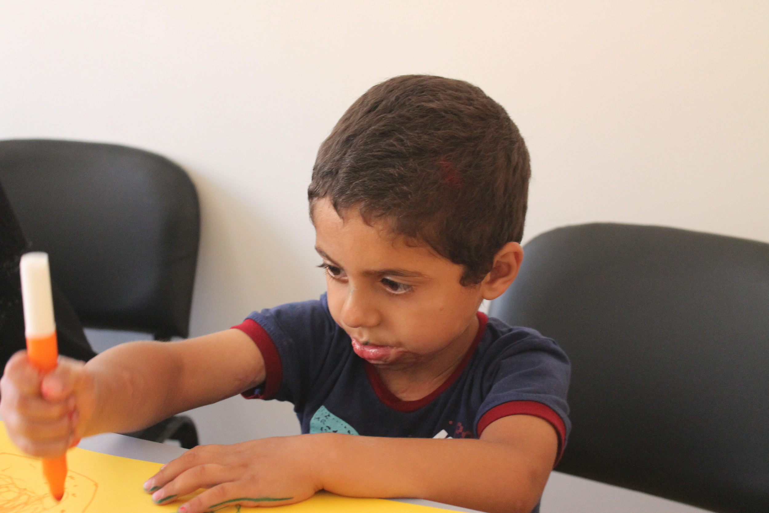 Hatem INARA Syrian refugee