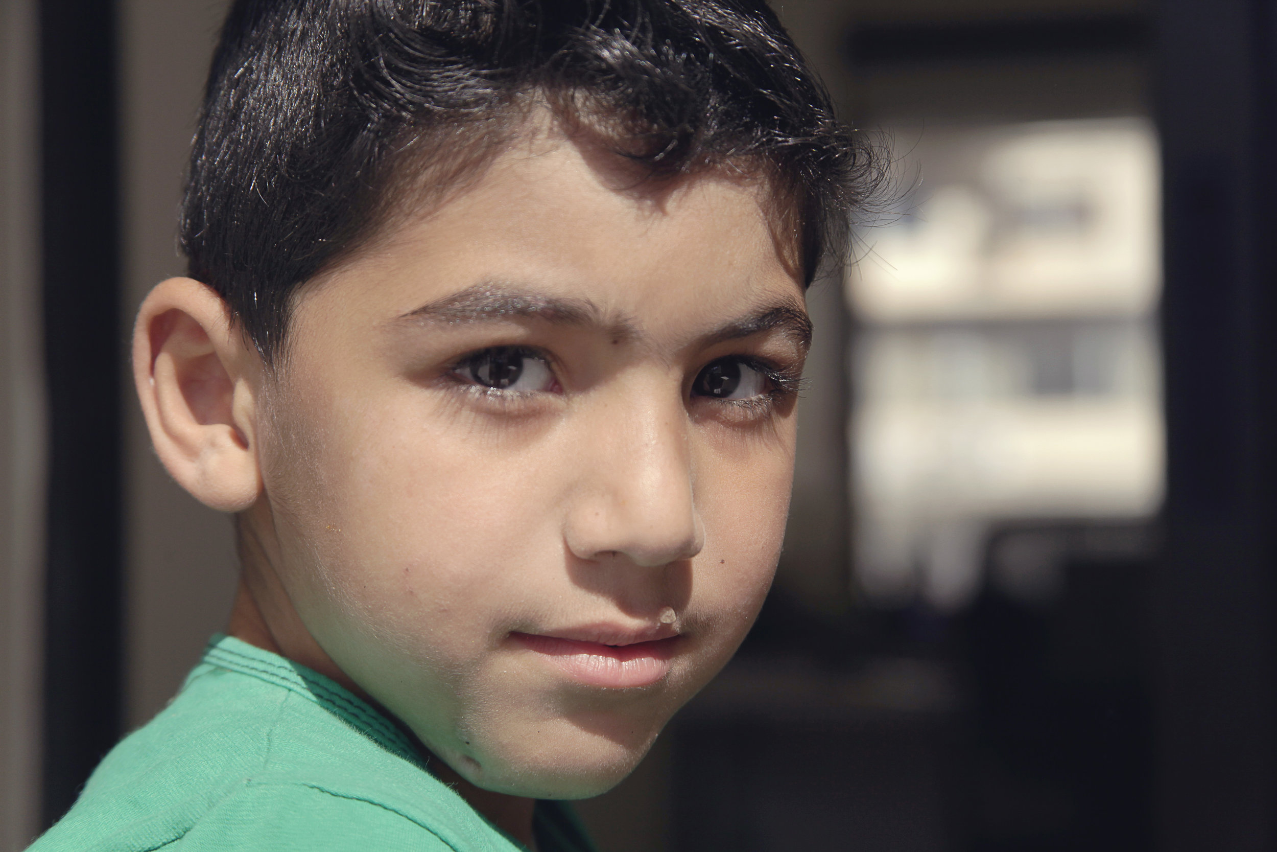 Ayyoub INARA Arwa Damon CNN Syrian refugee child