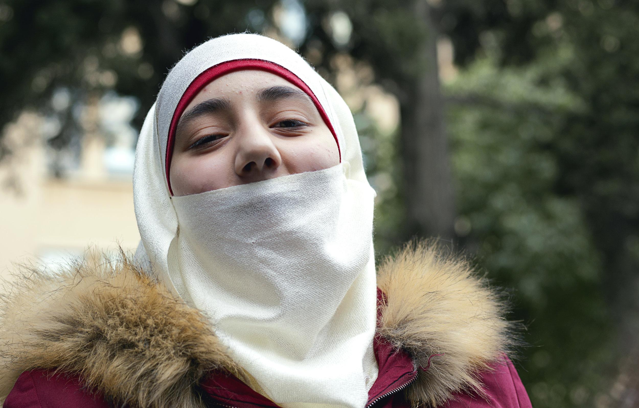 Zahra INARA Arwa Damon Syrian refugees medical help