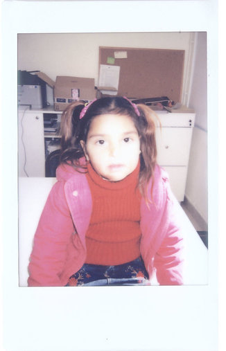 Zeinab INARA polaroid Arwa Damon Syrian refugee children