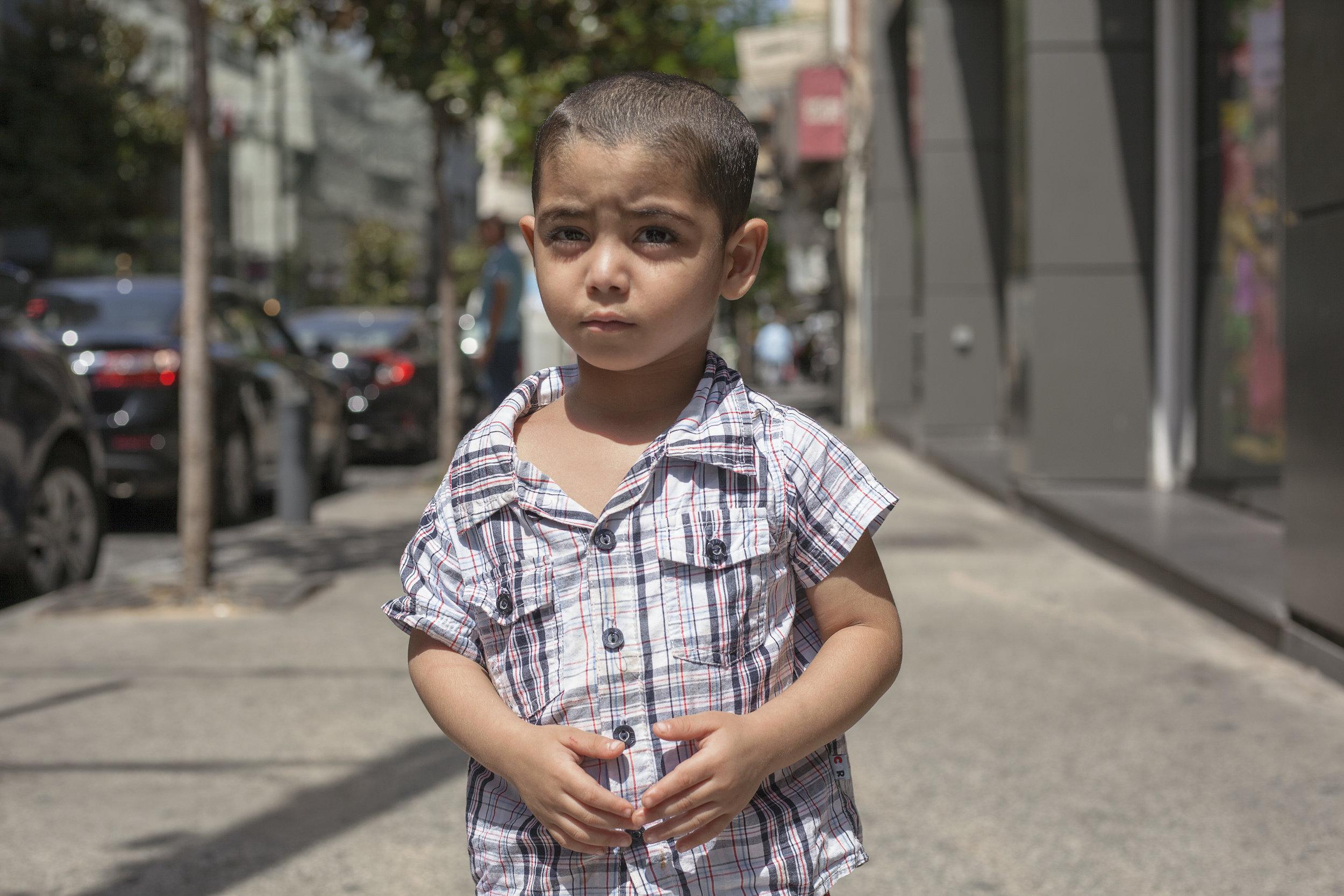 Mahdi INARA Syrian refugee Arwa Damon