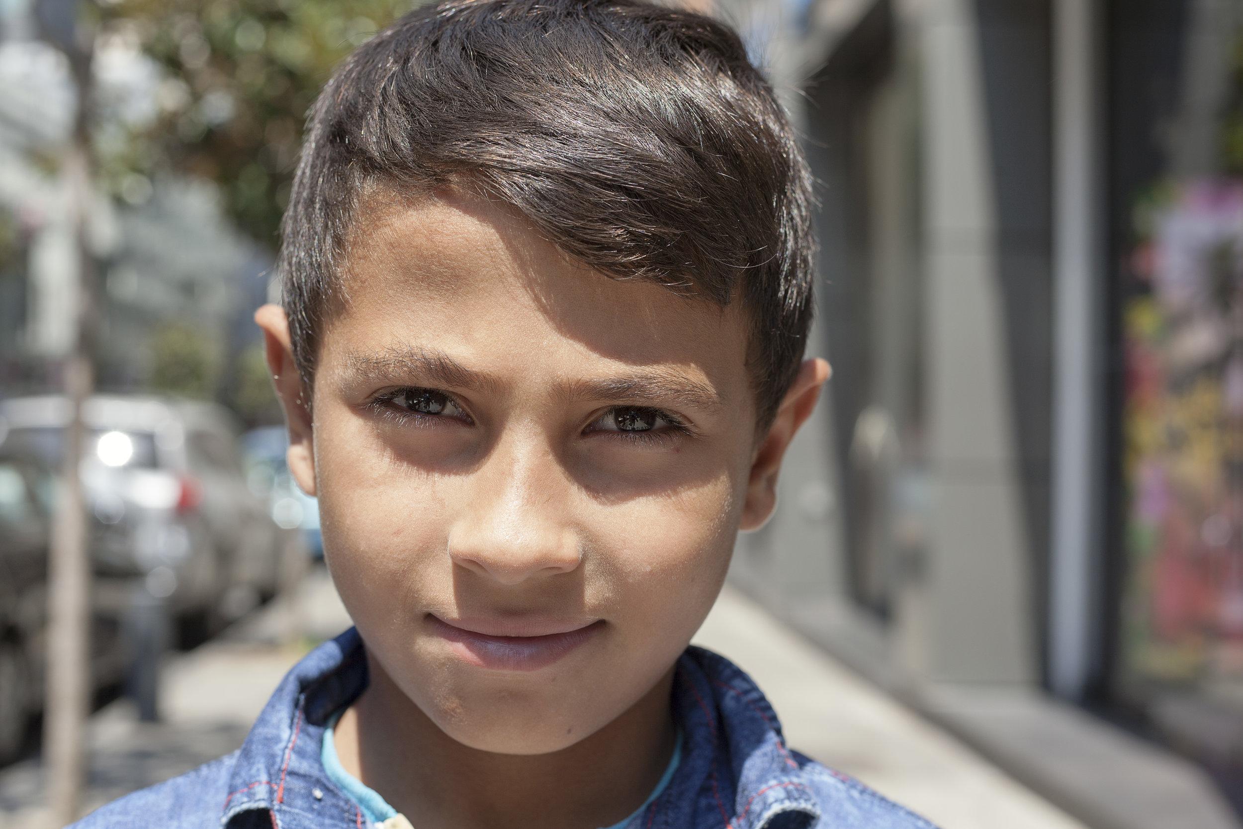 Ashraf when we first met him in July 2017.