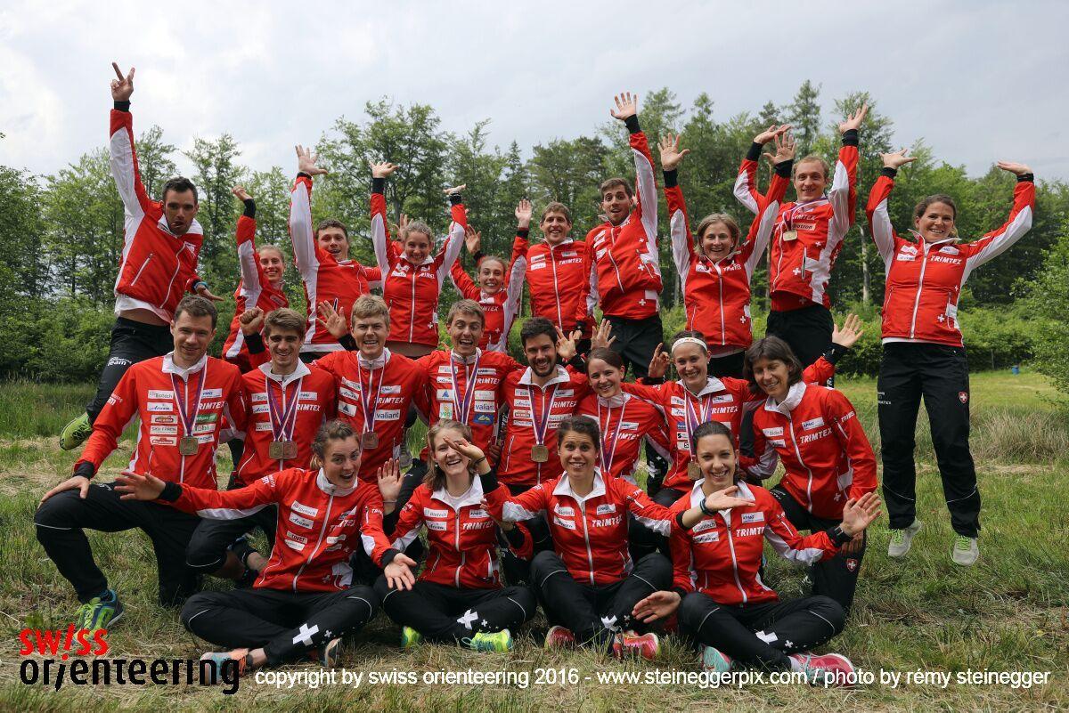 Fantastic Swiss Orienteering Team