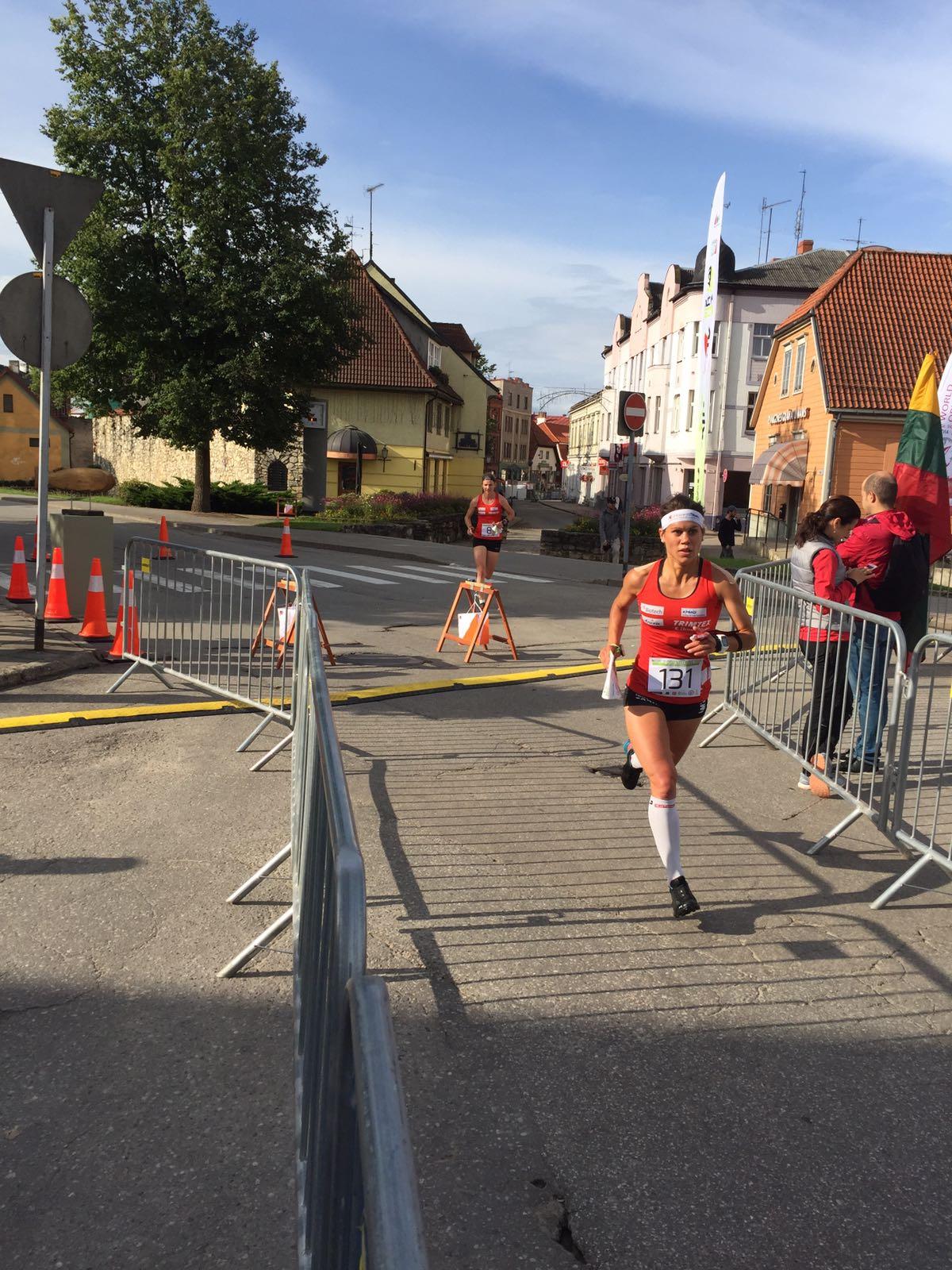 sprint finale della qualifica
