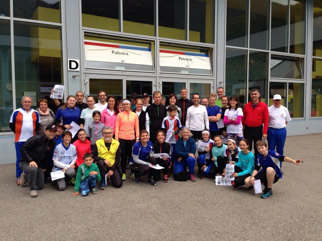 i partecipanti dell'evento Forza Elena
