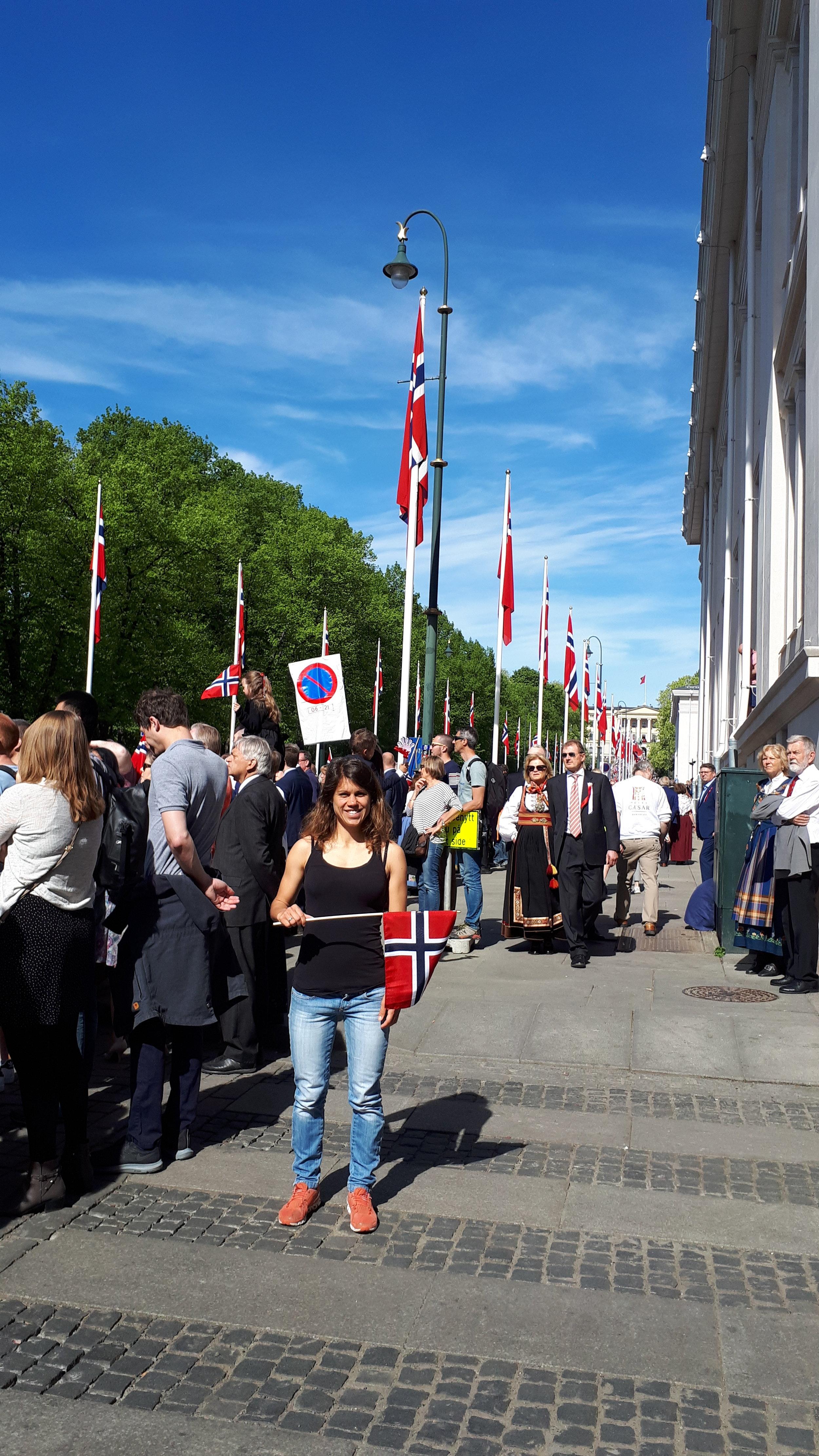 La festa nazionale a Oslo. Foto: Lisa Tacchelli