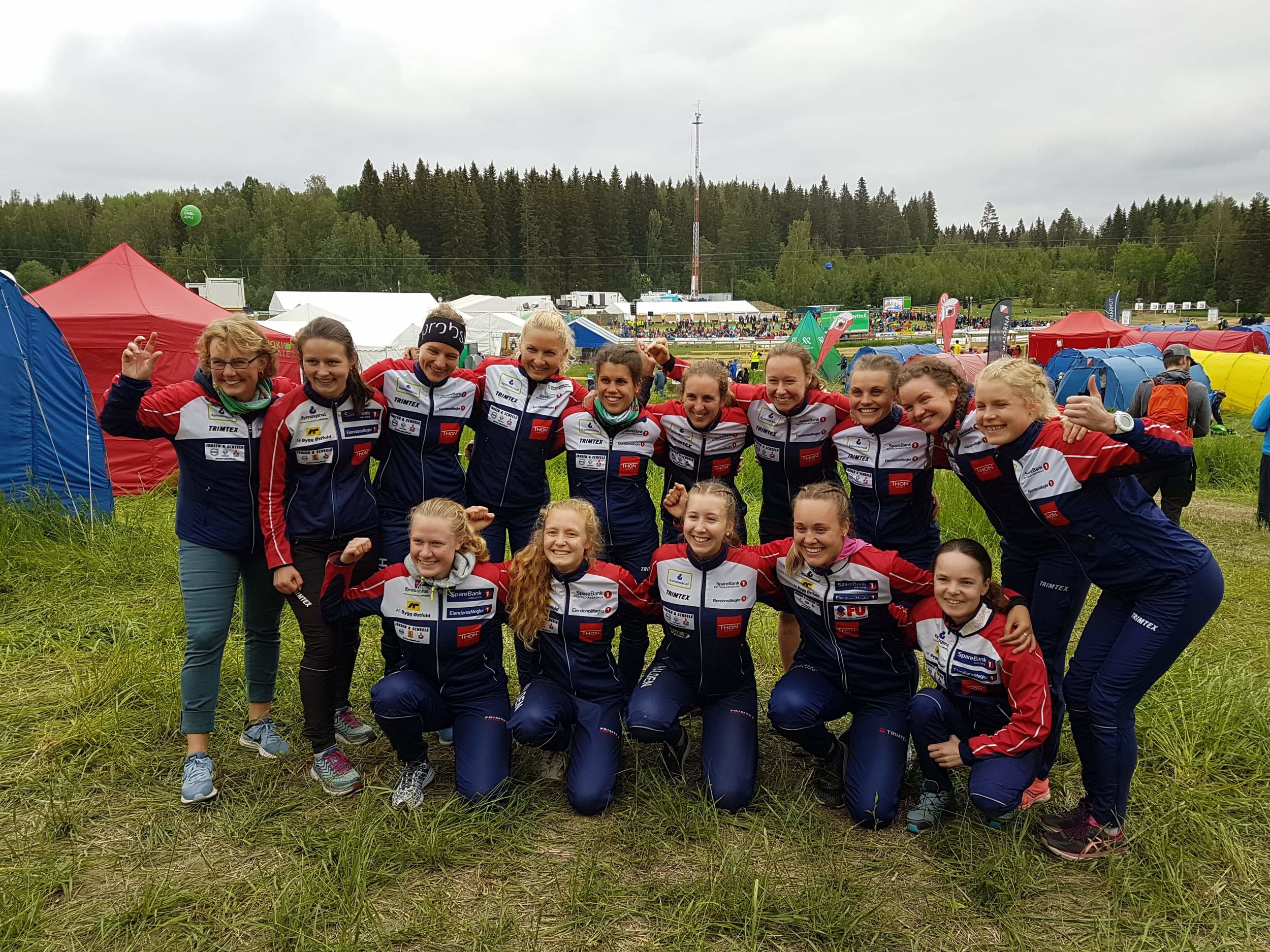Halden Cool Chicks at Jukola 2019!