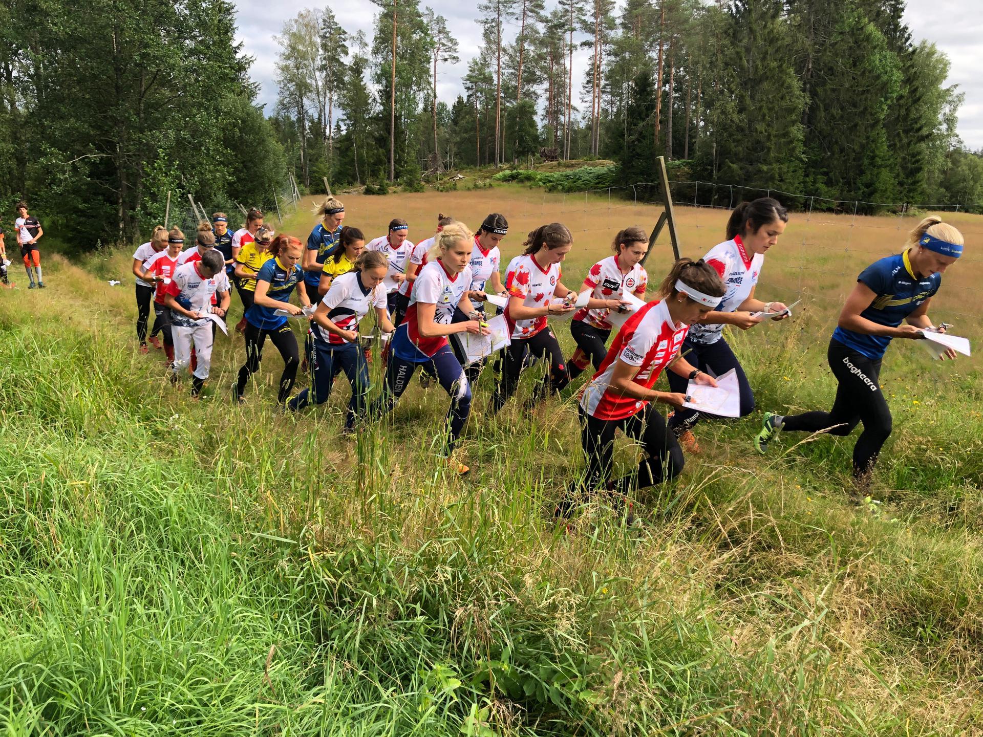 International Relay durante il campo di preparazione
