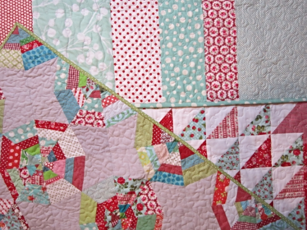 Quilts by Elisabeth Beighton-Delille at Hometown