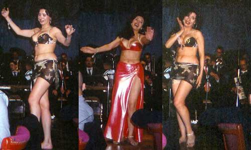 La danseuse égyptienne Dina - Le Caire