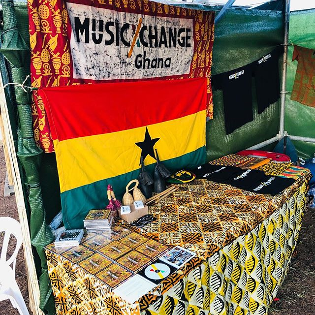 Come join us at the nonprofit area of #Rototom. We have t-shirts and CDs, you sign up to our newsletter to stay tuned w #musicxchange news...and most importantly, all day open drum circle!