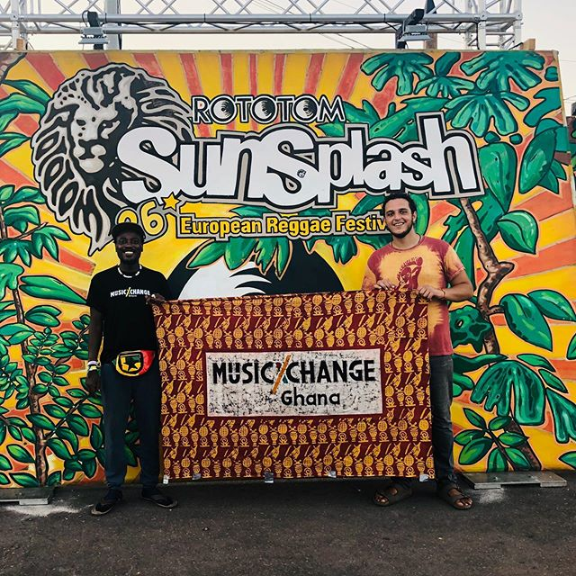 Another year has come and we still here promoting the mission and sharing traditional music vibes from #Ghana with our #Rototom family!