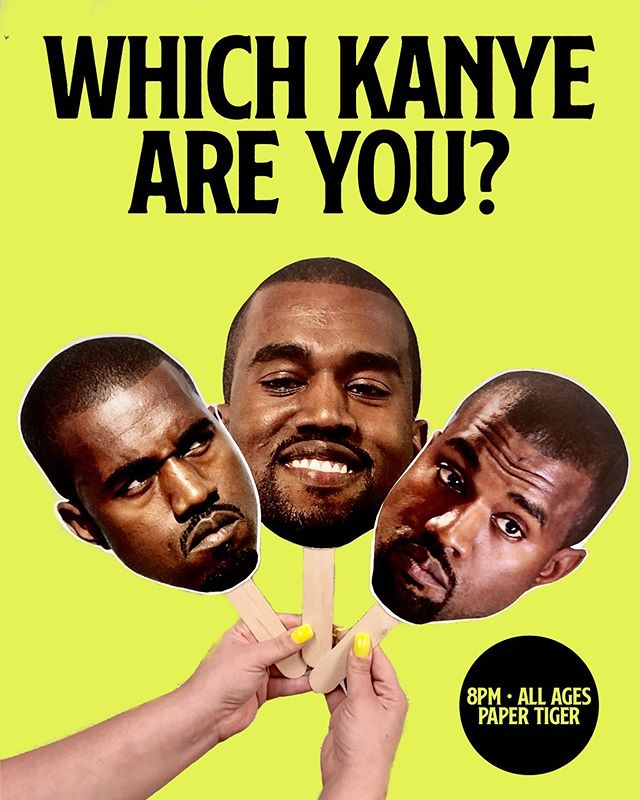 free face with admission (while supplies last) ~ #yeezy party tomorrow @210vintagethrift and friends