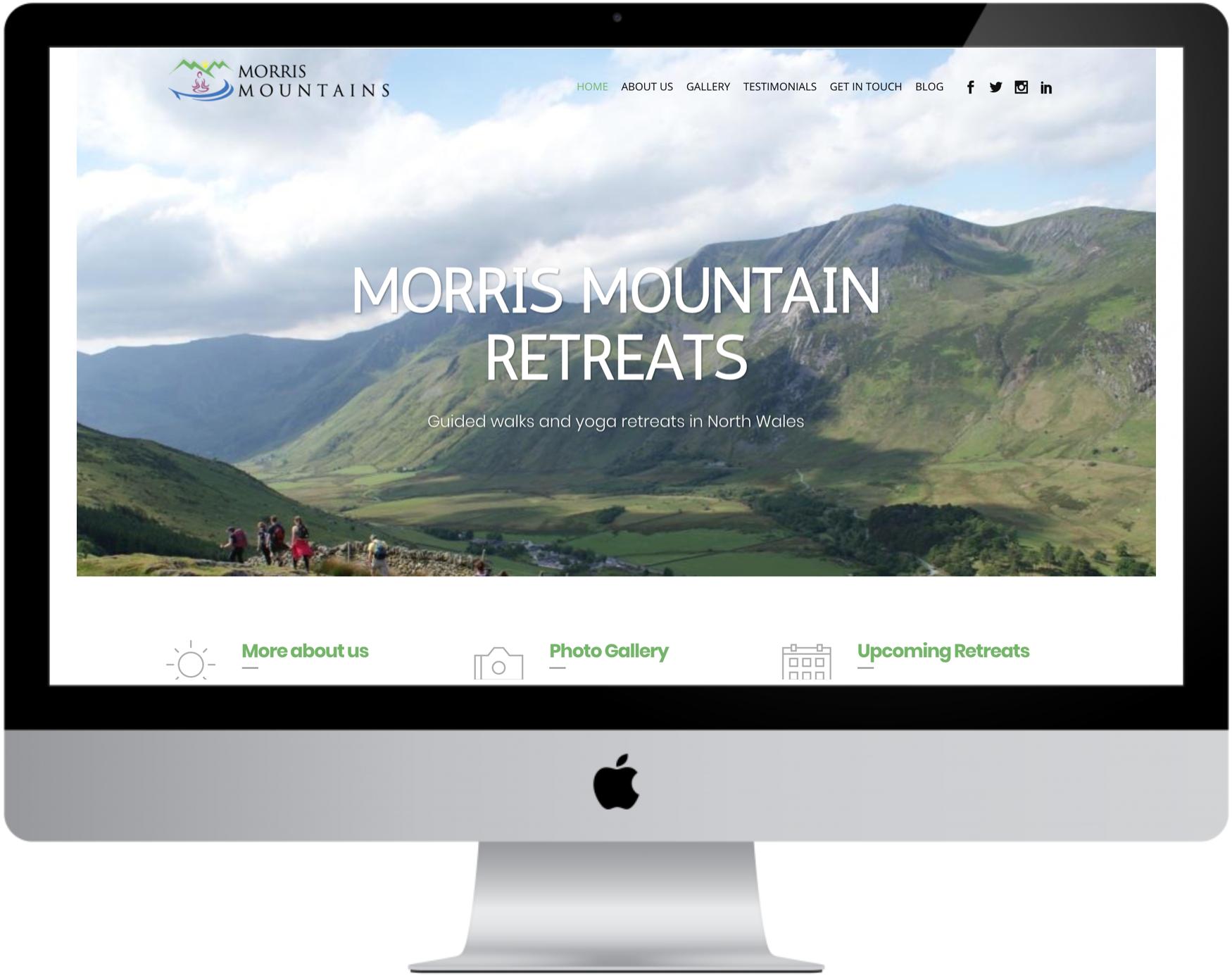 Visit Morris Mountain's website  here