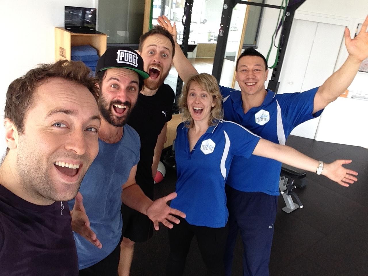 tal team and VLDL selfie.JPG