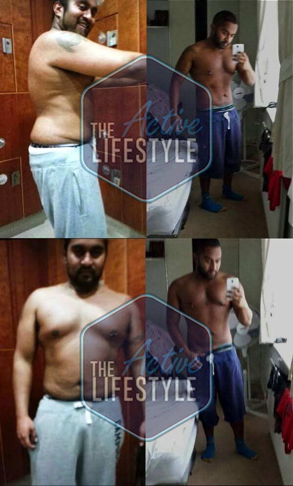 Mark started out at 105 kgs. After a truly amazing effort on our Life Changing 12 Week Transformation Program, he ended up a lean and awesome looking 87 kgs. He was training hard 4x a week, eating the right foods and seriously cutting back his alcohol intake. What a reward though!