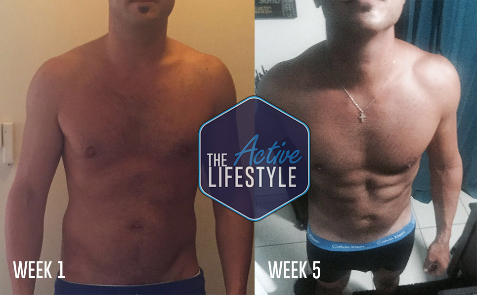 An old school friend, John is now a marketing manager living in Cyprus. A hectic party lifestyle saw him put on a lot of weight and he has struggled with yo yo dieting ever since. We put him on a fast track 6 week Transformation plan to get him in shape for his summer holiday, that included alcohol, and he was rewarded with abs to show for it! What a superstar!