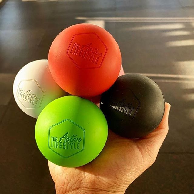 Massage balls are now in stock at The Active Lifestyle! If you don't own one of these you must get one now! .. It is the perfect tool to massage out those tight spots in your neck, shoulders, lower back, legs and knees.  They are just $12.50 from The Active Lifestyle studio!  #personaltraining #massage #massageball #auckland #training #lifestyle #feelgood #strengthtraining #healthy #health #foamroll #foamroller #ball #selfmassage