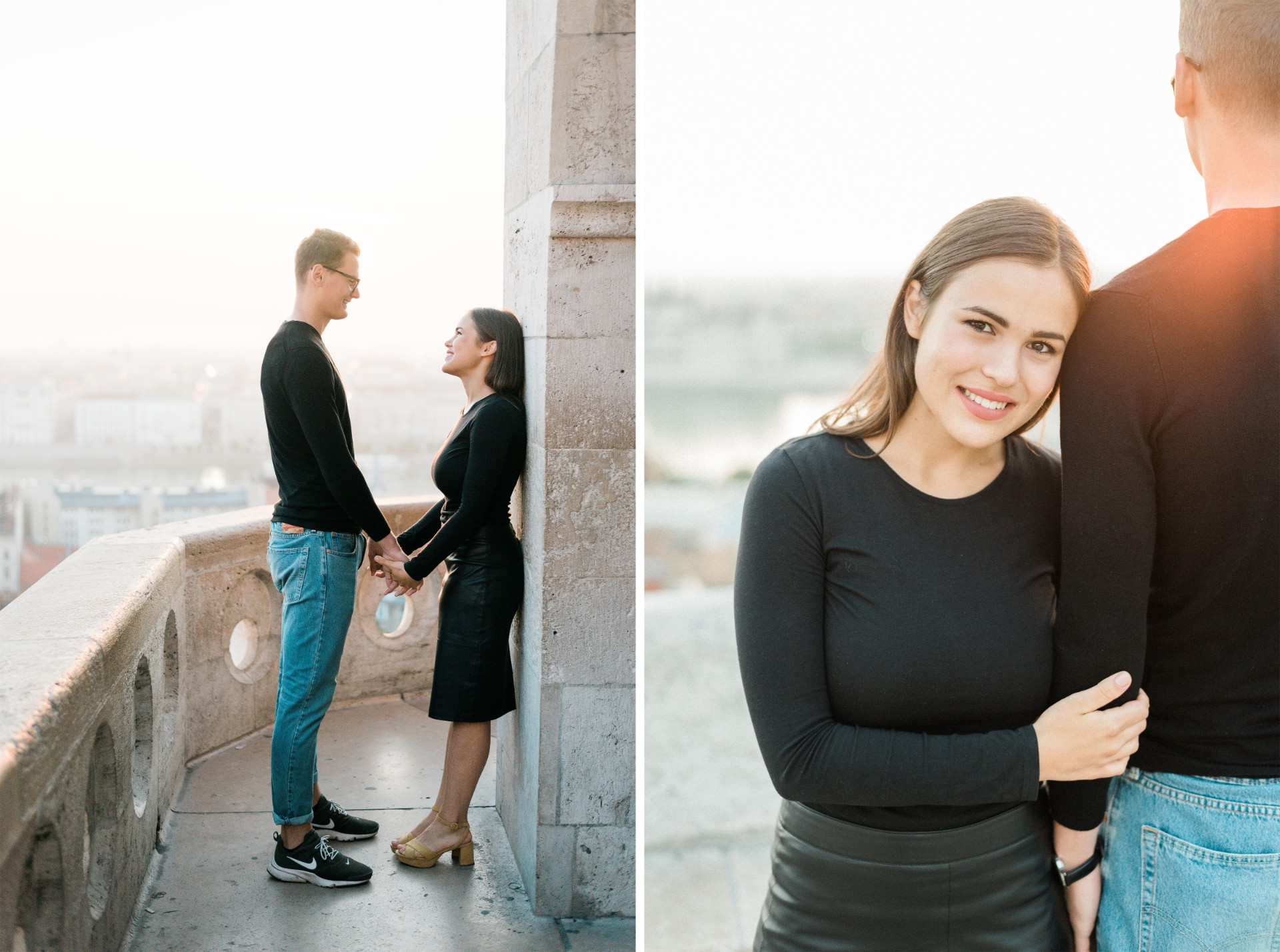 engagement session budapest fishermans bastion dawn sunrise film.jpg