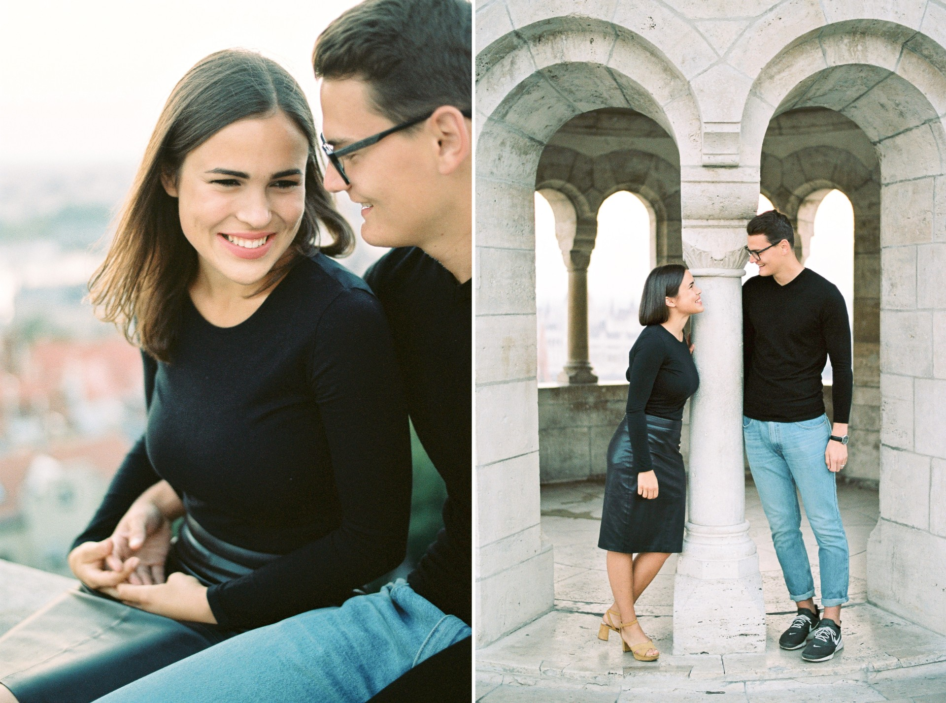 engagement session budapest fishermans bastion dawn sunrise.jpg