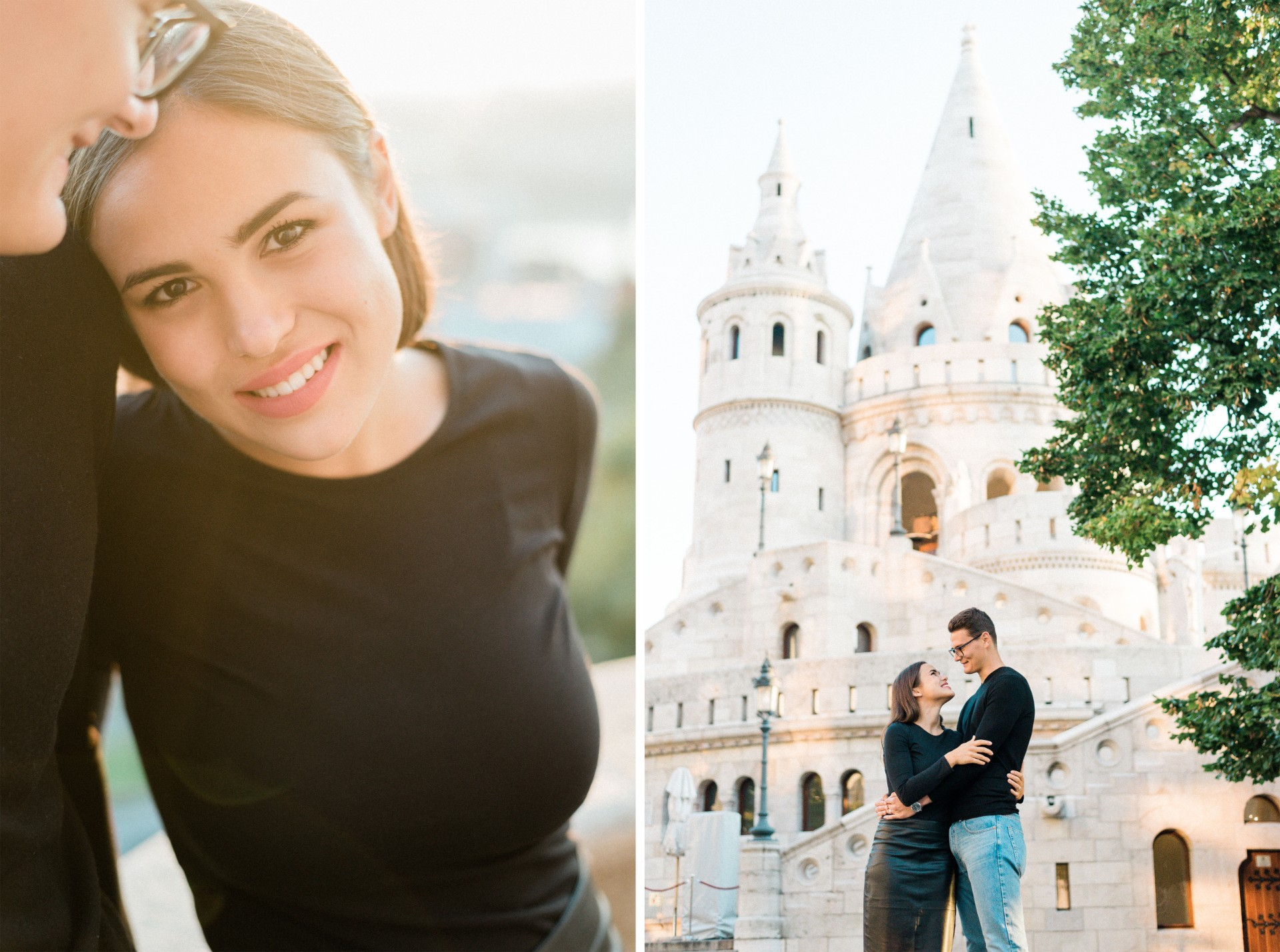 engagement session fishermans bastion dawn sunrise.jpg