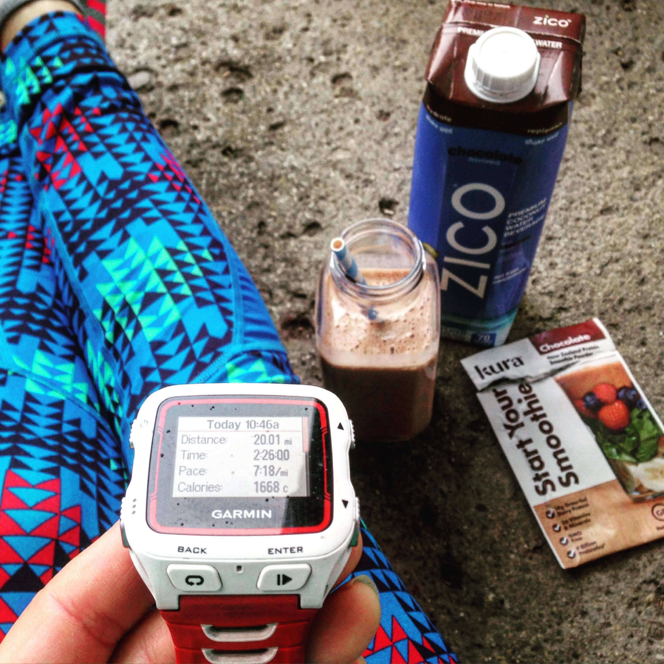 Post run recover is important to stay strong