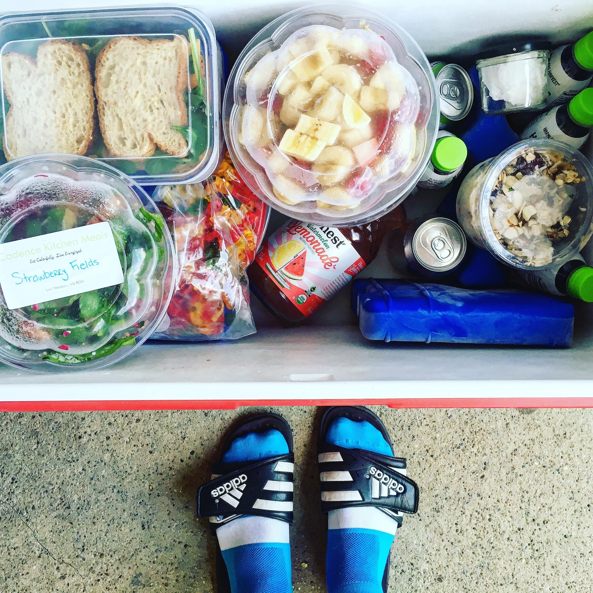 Travel food goals.