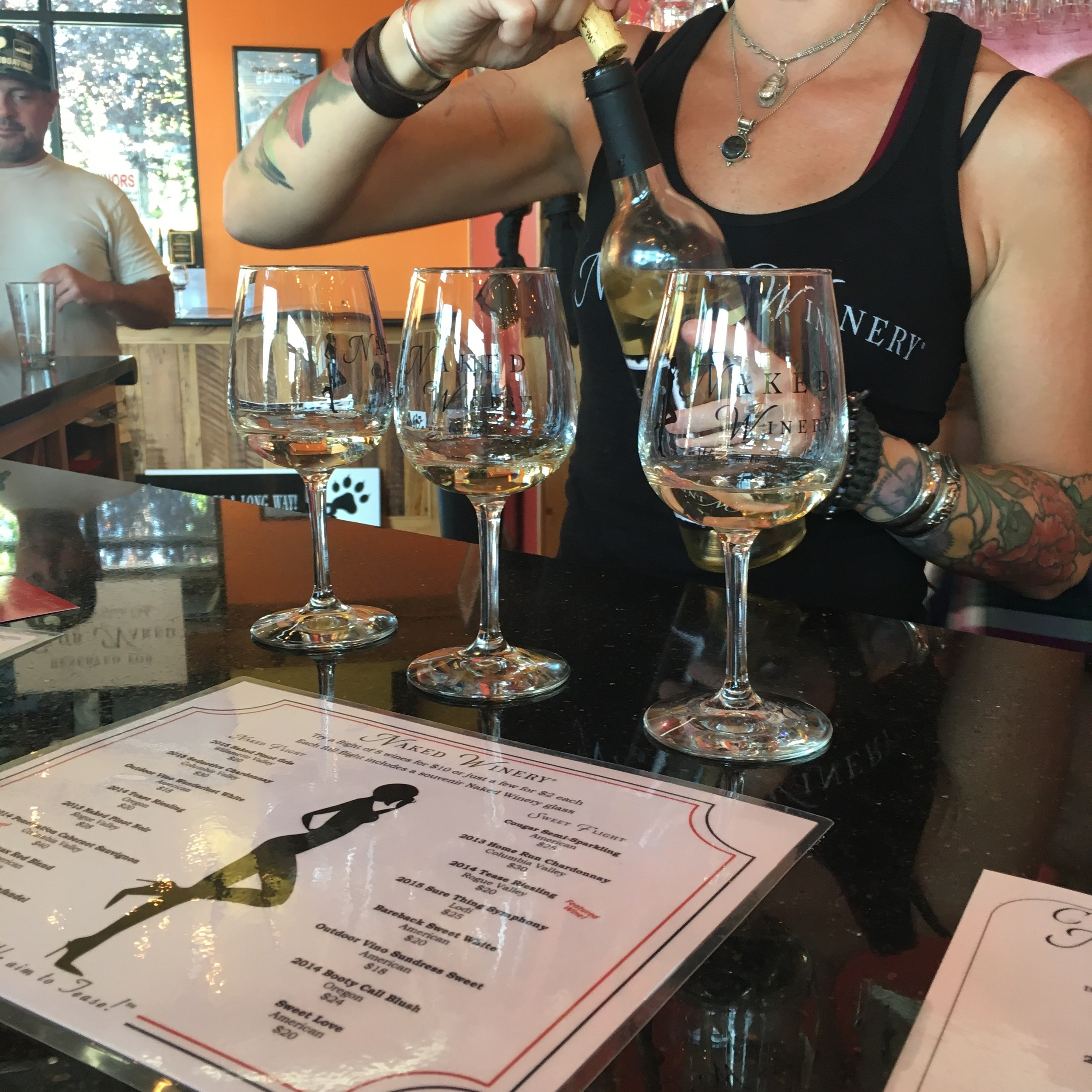 Oregon has too much local wine to refuse.