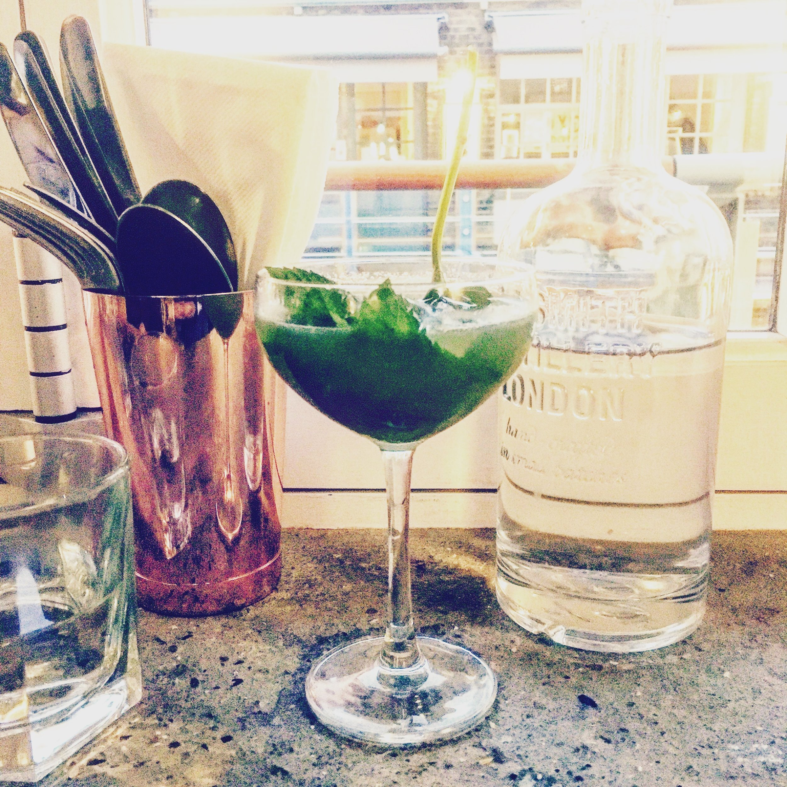 Mediterranian Mermaid cocktail