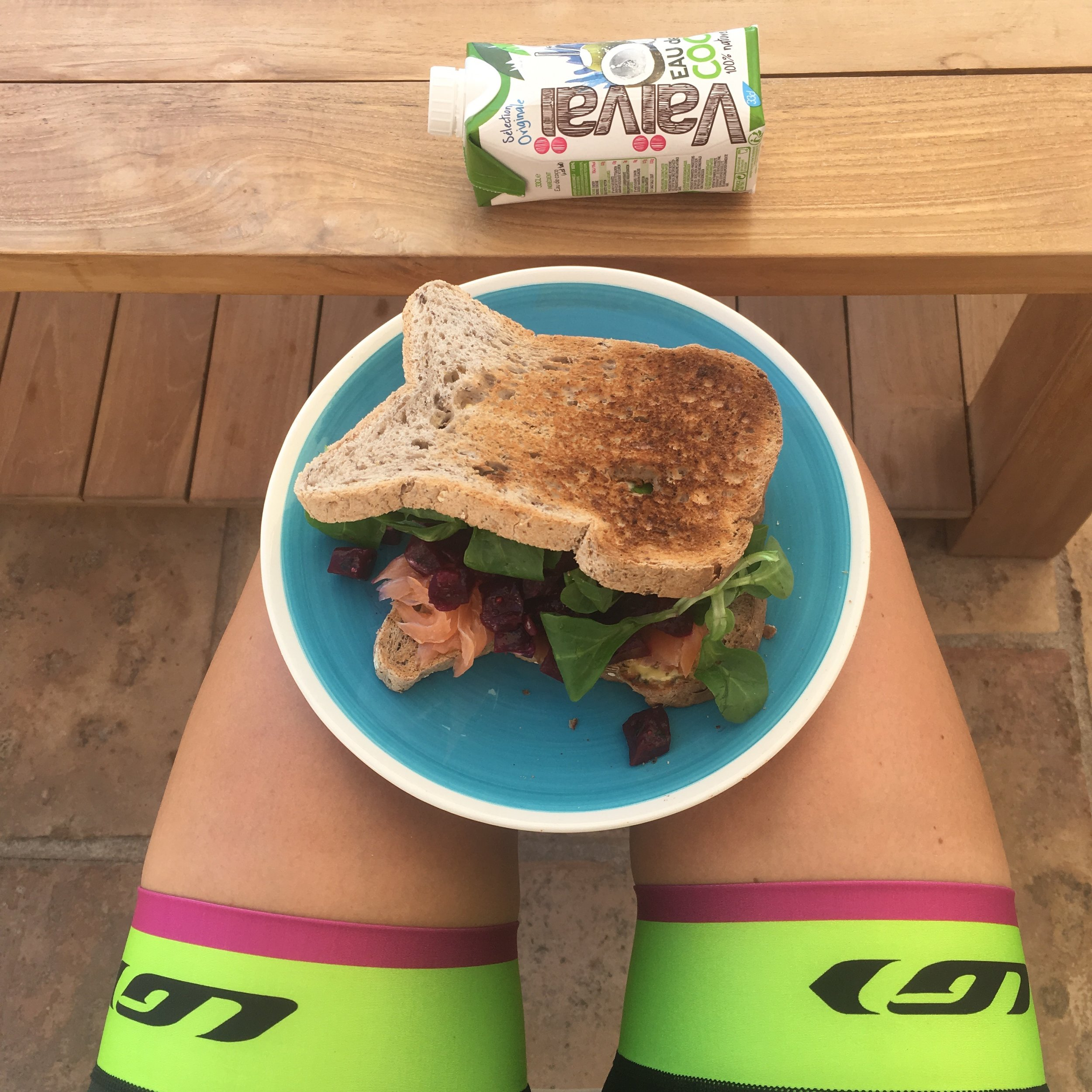 Post ride meal