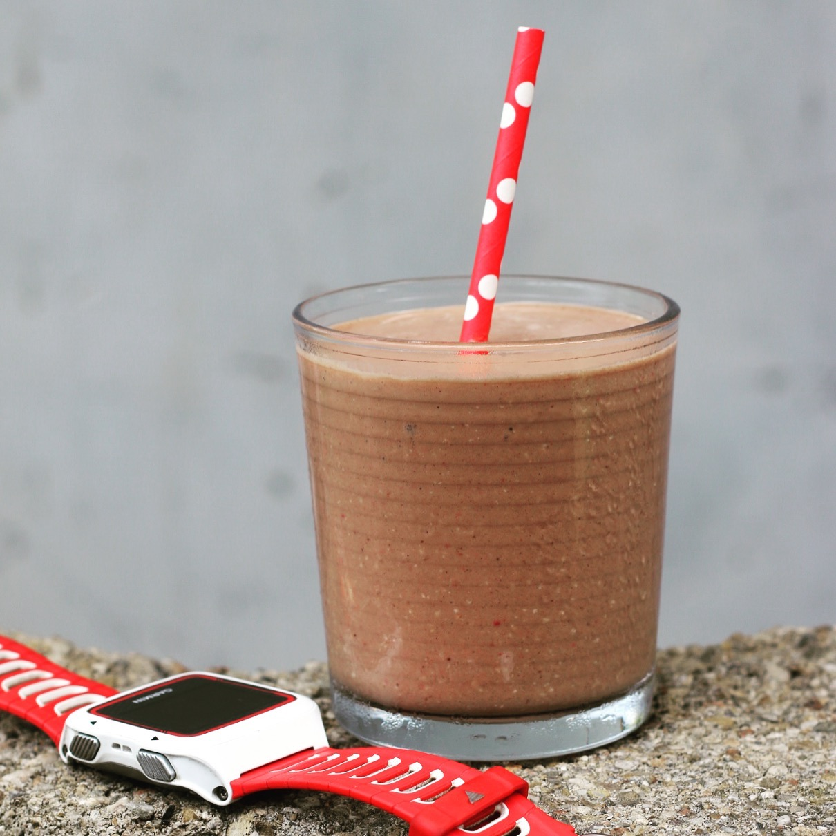 Add a smoothie the day before your race to increase calories + carbs in a healthy way.