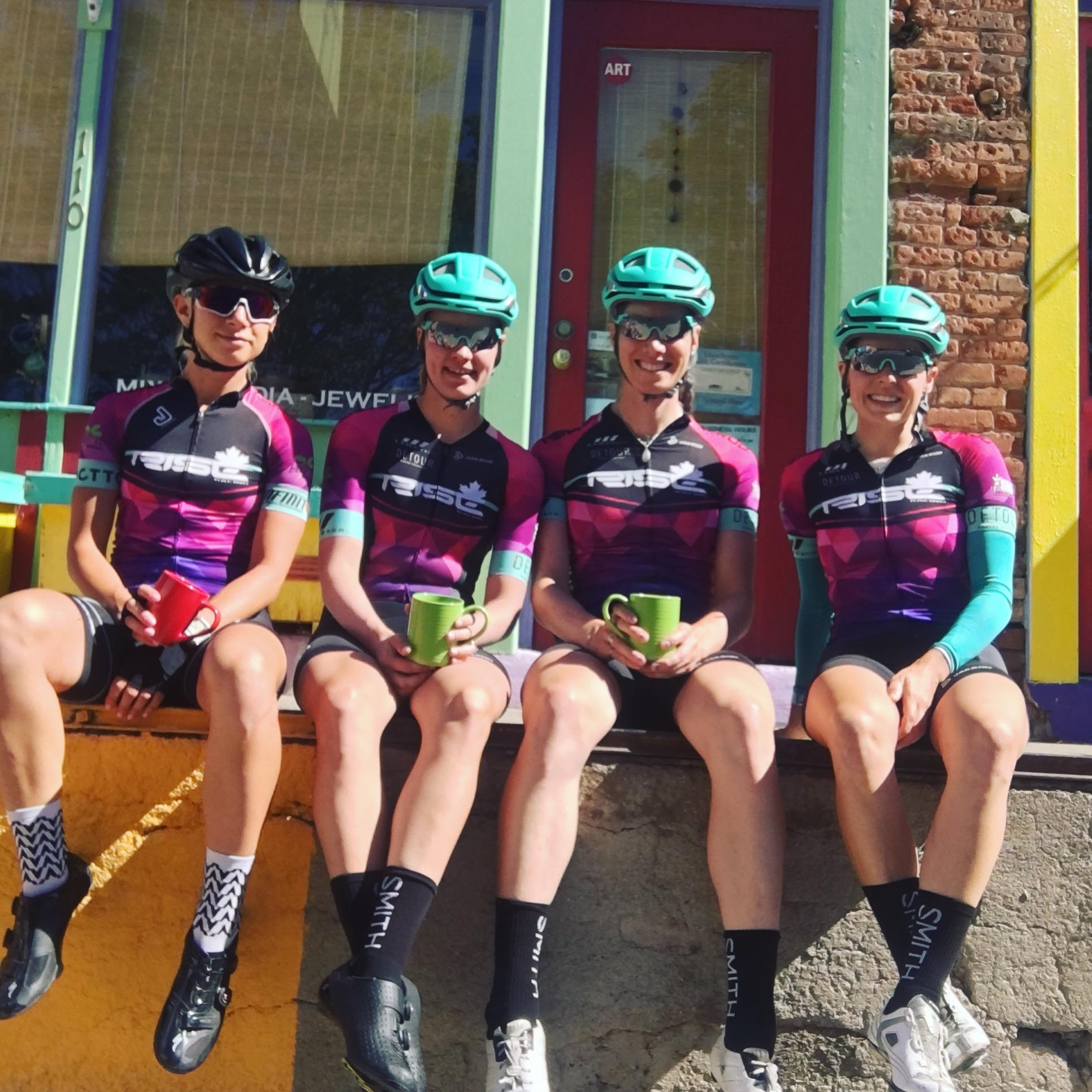 Team coffee ride.
