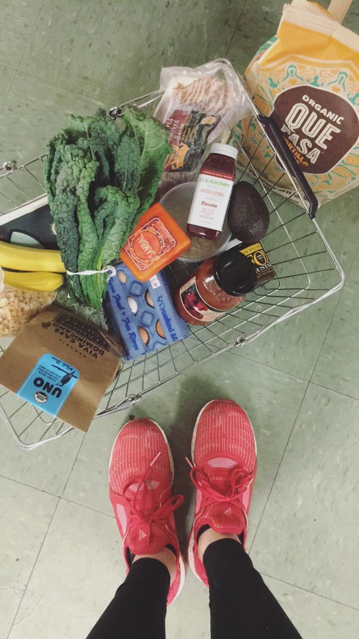 Co-op grocery haul