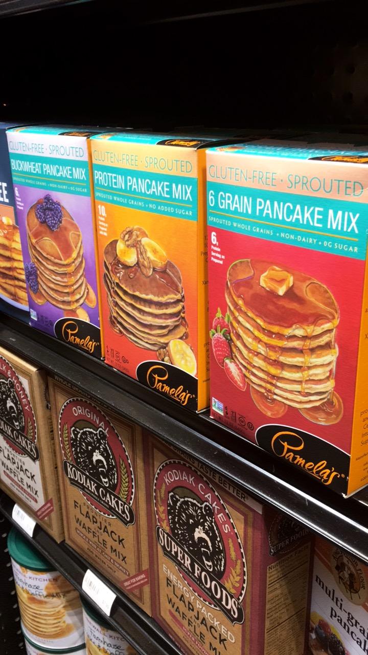 Drooling over my favorite pancake mixes