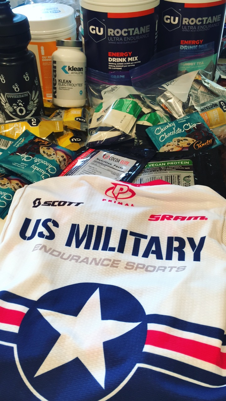 USMES had nutrition on point for the race weekend!