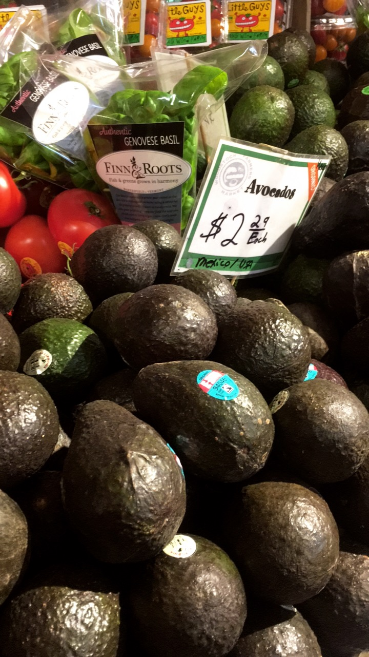Holy $$$ Avovados are not cheap in the Northeast