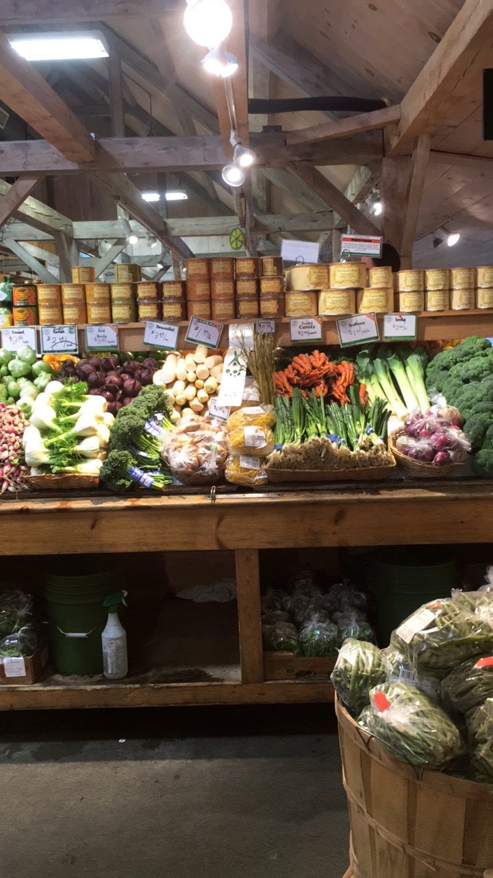 Awesome market selection at the Woodford VT Farmer's Market