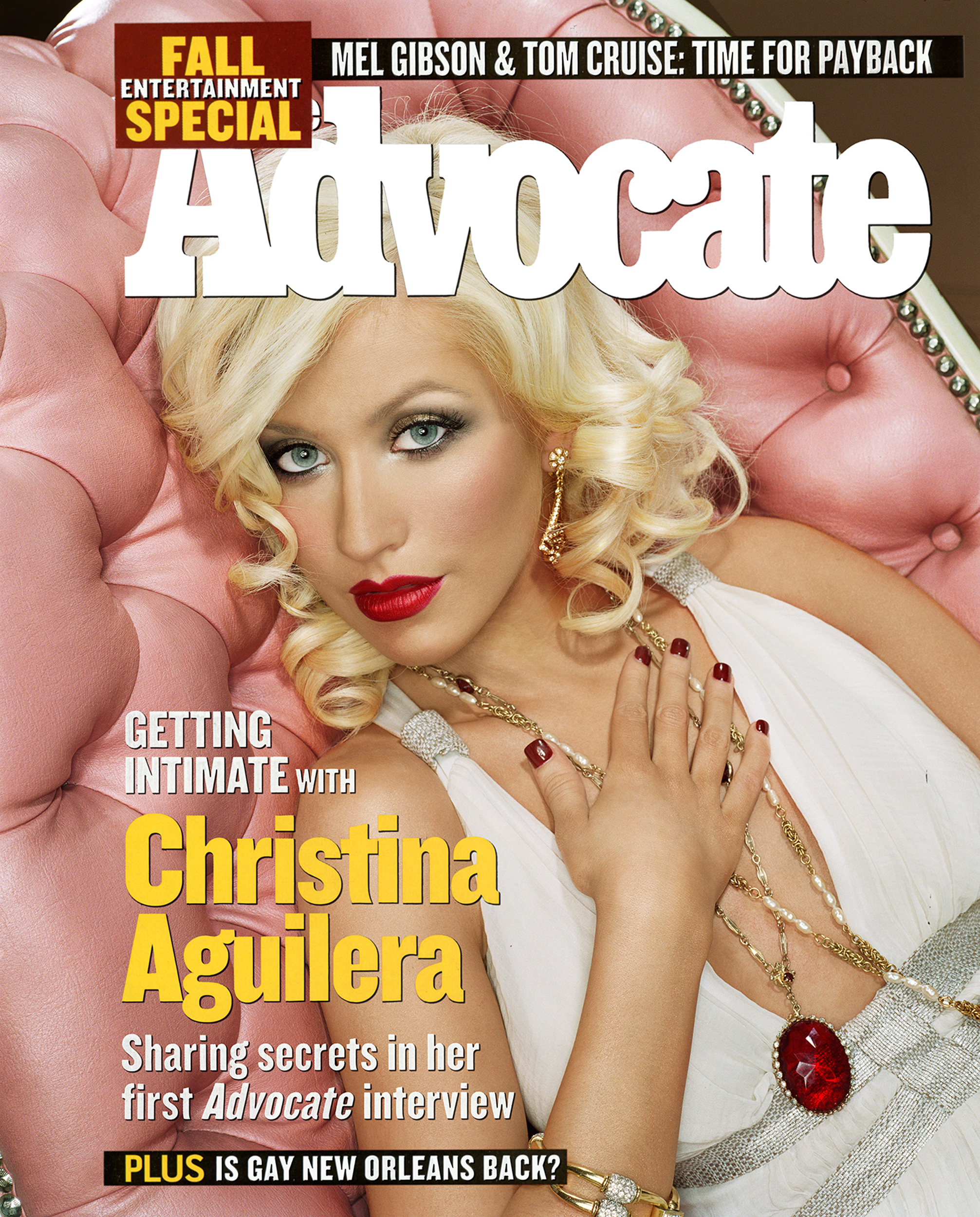 Advocate Magazine - Christina Aguilera