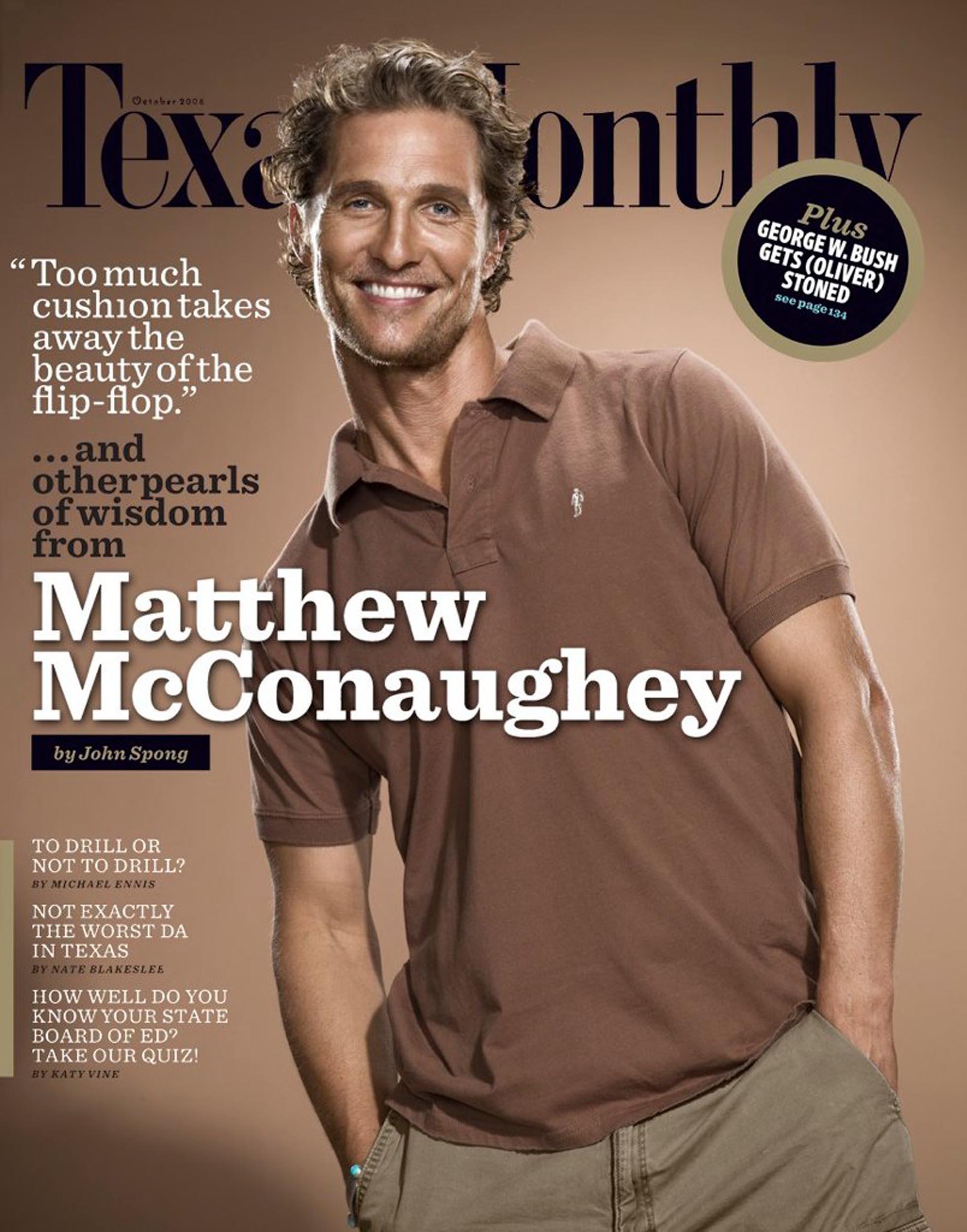Texas Monthly - Matthew McConaughey