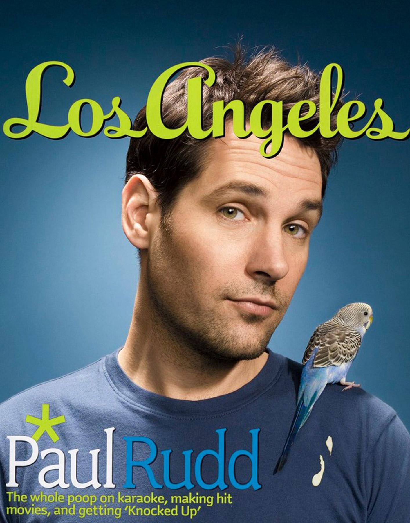 Los Angleles Magazine - Paul Rudd